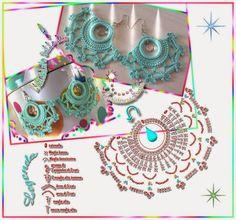 Melissa Melina Crochet: Bijoux au crochet