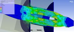 ANSYS Workbench Static Structural FEA of the insertion of a press-fit pi...