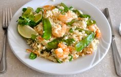 Slow Cooker / Crockpot Seafood: Thai Shrimp and Rice Cajun Recipes, Entree Recipes, Fish Recipes, Asian Recipes, Drink Recipes, Yummy Recipes, Ethnic Recipes, Recipies, Thai Shrimp