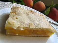 Mennonite Girls Can Cook: Peach Slab Pie