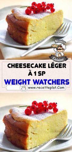 Ww Desserts, Healthy Desserts, Cheesecake Leger, Breakfast Cheesecake, Dessert Light, Weigth Watchers, Weight Watchers Breakfast, Thing 1, Cheesecake Recipes