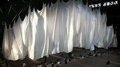fabric art installation - Google Search