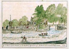 Herberg De Bonte Koe in Voorhout (1731) - Geschiedenis van Zuid-Holland