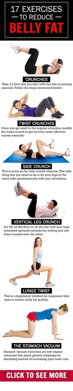 17 Simple Exercises To Reduce Belly Fat ~ medibrisky