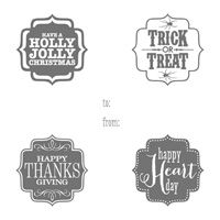 *Stampin' Up, by Amy Frillici, Gathering Inkspiration, order products online at amysuzanne.stampinup.net, Tags 4 You Clear-mount Stamp Set