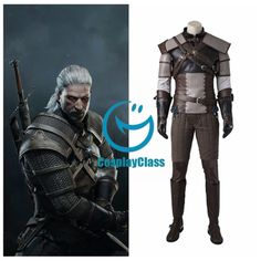 The Witcher 3:Wild Hunt Geralt of Rivia Cosplay Costume – CosplayClass  #TheWitcher3 #GeraltCosplay #Costume #CosplayClass