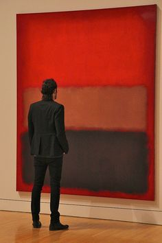 Stand a little closer to appreciate the real details and craftsmanship ;-) Rothko <3