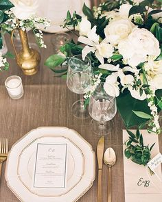 Modern rustic with gold