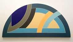 Frank Stella  Protractor Variation X  1968  oil on canvas  60 x 120 in / 152.4 x 304.8 cm   Our reference B40430