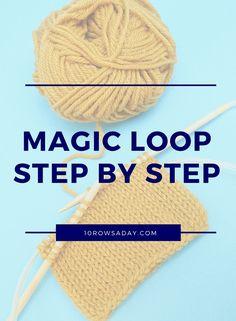 magic loop knitting instructions