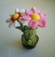 Free Crochet Flower Pot Pattern - 11 Easy and Simple Free Crochet Flower Patterns and Tutorials