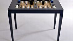 The $3,200 Oomph backgammon table for board game lovers - Bornrich