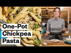 One-Pot Chickpea Pasta (Gluten-Free) | Thrive Market - YouTube