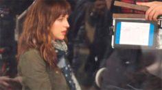 ¡Primeras fotos de Jamie Dornan y Dakota Johnson en el rodaje! (La cafeteria)
