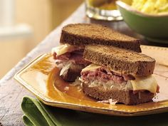 Slow Cooker Reuben Sandwiches:  15 min. prep time and 9 to 11 hours(!!!)on low in the crock pot. Definitely not something to throw together in a hurry, but definitely something worth doing overnight or for when you get home from work.