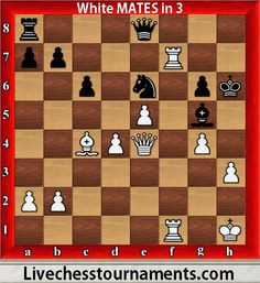 chess puzzles white mates in 3