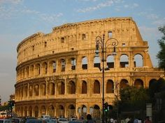 The Colosseum, Rome   One of the Greatest Works of Architecture and Engi...