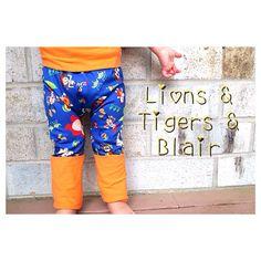 Handmade Toys Fart Sacks - Size 3M to 3T - Toddler Legging/Baby Legging/Grow With Me Pants/Cloth Diaper Pants/Toddler Pants on Etsy, $26.00