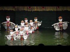 ベトナム・ハノイ 水上人形劇 8/8 Water Puppet Show Hanoi,Vietnam