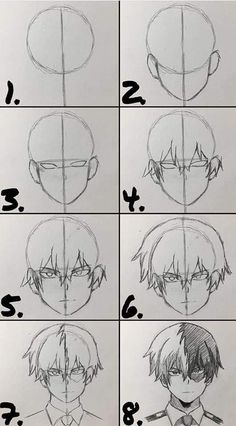 Art Drawings Sketches Simple, Pencil Art Drawings, Anime Girl Drawings, Body Drawing Tutorial, Anime Drawing Tutorials, Manga Tutorial, Art Tutorials, Anime Character Drawing, Cartoon Art Styles