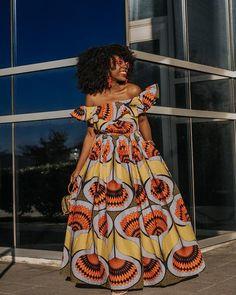 Ankara Dress African Clothing African Dress African Print Dress African Fashion Women's Clothing African Fabric Short Dress Summer Dress at Diyanu
