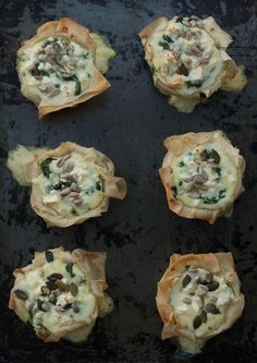 Av filodeg kan man lätt gör läckra pajer till lunch eller som förrätt!