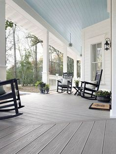 Deck Outdoor Front Covered Front Home Porch Design Ideas Beautiful . AtThe Porch Companyour Deck And Screened Porch Combos Are . 17 Unbelievable Rustic Porch Designs That Will Make Your . Porch Kits, Porch Ideas, Patio Ideas, Yard Ideas, Farmhouse Floor Plans, Farmhouse Style, Coastal Farmhouse, White Farmhouse, Coastal Cottage
