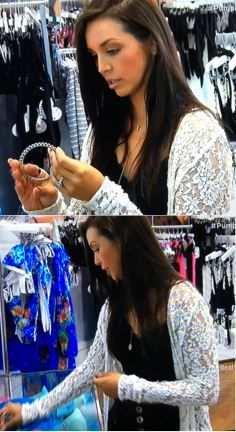 Scheana Shay's Long White Lace Cardigan on Vanderpump Rules http://www.bigblondehair.com/reality-tv/scheana-shays-long-lace-cardigan/