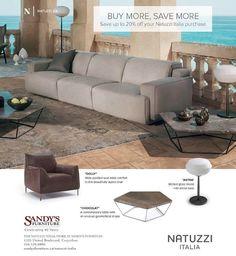 #sandysfurniture #buymoresavemore #natuzziitalia #design @sandysfurniturebc