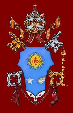pope's coat of arms - Google Search