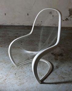 British Panton Chair Competition by JUMP STUDIOS  (original chair design by Verner Panton)