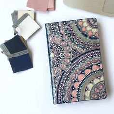 OFF SALE Dot art Daily notebook lined undated Hand painted mandala art cover Dot painting Gift for her Blank journal by MagicOfDots on Etsy Mandala Art, Mandala Design, Dot Art Painting, Rangoli Painting, Personalized Notebook, Elements Of Art, Leather Craft, Blank Journal, Bullet Journal