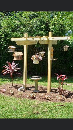 Garden Yard Ideas, Backyard Projects, Garden Crafts, Lawn And Garden, Garden Projects, Garden Art, Garden Design, Outdoor Plants, Outdoor Gardens