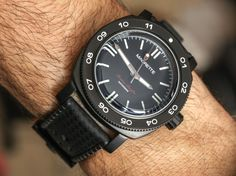 Magrette Moana Pacific Waterman. Just ordered ! So exciting ! 41 mm, Miyota movement. Black PVD. Plus waterproof !