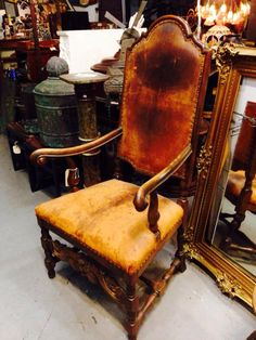 French chair, 1850s.