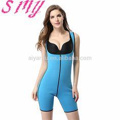 ef91fb326b372 hot shapers waist trainer corsets Neoprene waist trainer body shaper  cincher bodysuit women Slimming Underwear shapewear