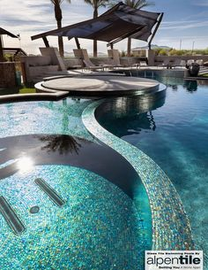 Alpentile Glass Tile Swimming Pools