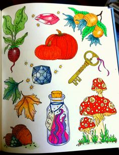 From Seasons. Colorist Mary Malloy