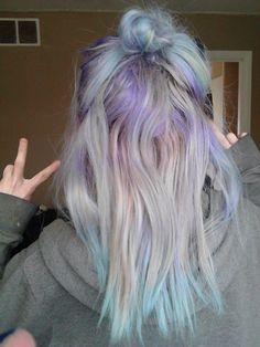 Hair Color Forever! — trashyy-alien: Im sorry but MY HAIR IS AMAZING