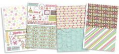 FREE Happy Holidays patterned papers | Papercraft Inspirations