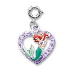 Charmit Ariel Heart Charm - $5.00