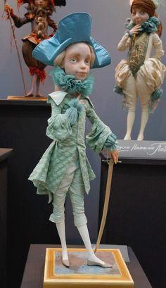 """Международная выставка кукол """"Art of Doll"""" в Гостином дворе. 12.12.2015. Автор: Наталья Победова. Серия: Детский праздник"""