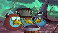 Best Halloween Apps for kids 2013 Angry Birds