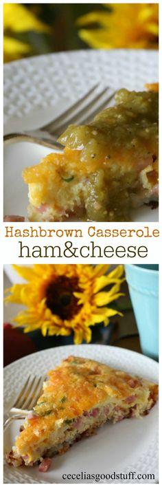 Ham and Cheese Hashb