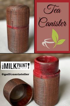 We are TOTALLY in love with this tea canister! The beauty was turned by @gulfcoastatelier by using walnut and purpleheart wood. Once completed the canister was finished with Pure Tung Oil and Citrus Solvent. Pure Tung Oil is a hard-drying wood oil that provides a lustrous and beautiful finish. It resists marring, penetrates well, and is environmentally friendly. Citrus Solvent is an all-natural way to thin tung oil and evaporates as it dries. Pure Tung Oil, Tung Oil Finish, Real Milk Paint, Wood Finishing, Tea Canisters, Wood Oil, Raw Wood, Wood Species, Safe Food