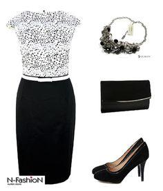 Przepiękny i elegancki styl dla bardzo eleganckich kobiet. Piękna #spódnica