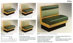 We Make Quality Replacement Restaurant Booth Seat Covers For Used Booths In Chain Restaurants And Local Elishments Across The