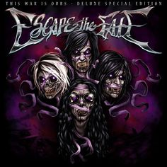 Escape the Fate | Escape the Fate This War Is Ours [2 Disc Deluxe Edition] Album Cover