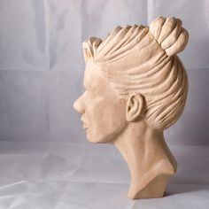 Female Face By Dave Hessey