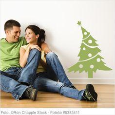 Wandtattoo Weihnachten - Weihnachtsbaum